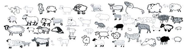 The Sheep Market by Aaron Koblin