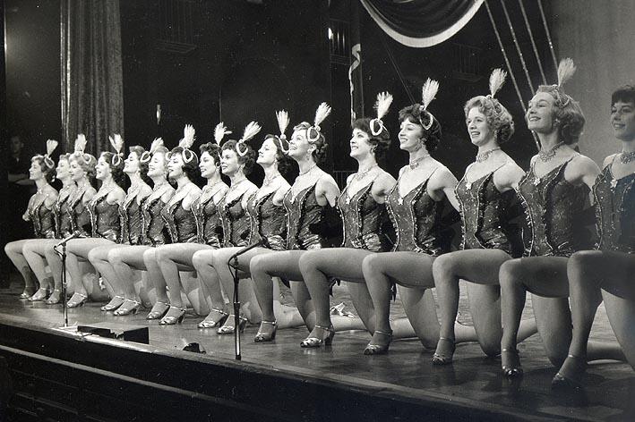The Tiller Girls Show. Sunday night at the London Palladium. Photo by Horace Ward (Rolleiflex Camera), London, c.1960
